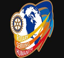 ROTARY SERVING HUMANITY Unisex T-Shirt