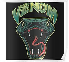 Venom icon illustration Poster