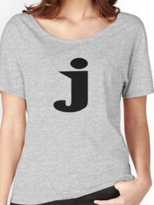 J (wide latin) Women's Relaxed Fit T-Shirt