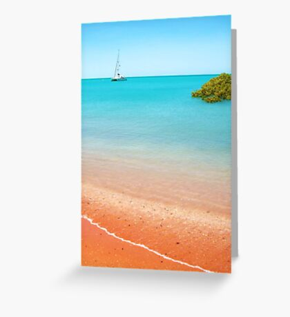 Town Beach, Broome Greeting Card
