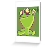 A LITTLE MIGHTY BATTLE Greeting Card