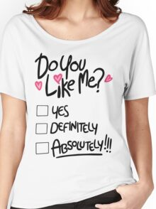 Gravity Falls Mabel: do you like me Women's Relaxed Fit T-Shirt