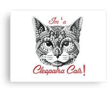beautiful cleopatra cat Metal Print