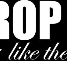 homegirl drop it Sticker