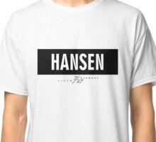 Hansen 7/27 - Black Classic T-Shirt