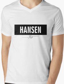 Hansen 7/27 - Black Mens V-Neck T-Shirt