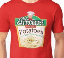 Chef Gattoardee Scoopski Potatoes Unisex T-Shirt