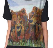 Grizzly bears Chiffon Top