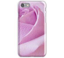Delicate Lavender Rose Macro iPhone Case/Skin