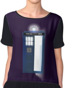 Doctor, WHO? Chiffon Top