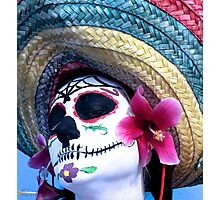 Day of the dead person  Photographic Print