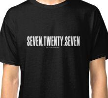 Seven Twenty Seven - White Classic T-Shirt