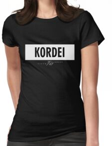 Kordei 7/27 - White Womens Fitted T-Shirt
