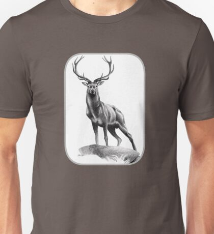 All Muscle - Red Deer Stag Unisex T-Shirt