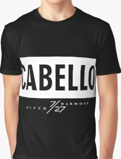 Cabello 7/27 - White Graphic T-Shirt
