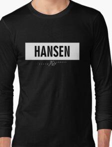 Hansen 7/27 - White Long Sleeve T-Shirt