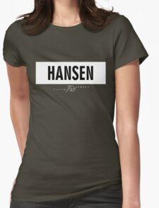Hansen 7/27 - White Womens Fitted T-Shirt