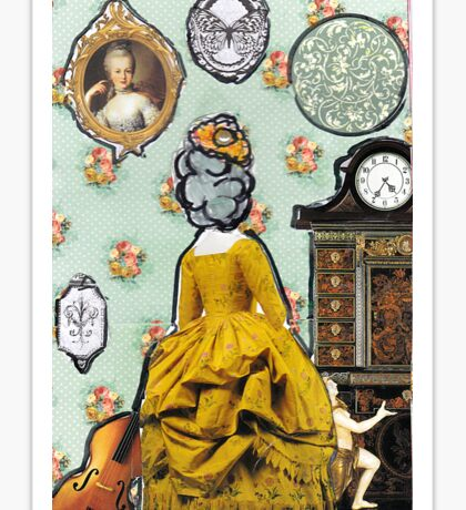 Colonial Dollhouse Sticker