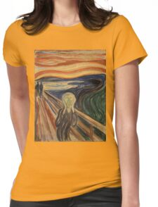 Munch - The Scream Womens Fitted T-Shirt