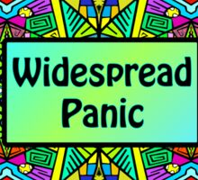 WP - Widespread Panic - Psychedelic Pattern 2 Sticker