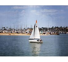 Santa Barbara Sailing Photographic Print