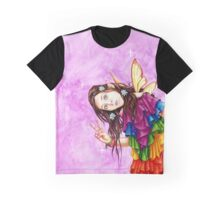 Rainbow Peace Fearie Graphic T-Shirt