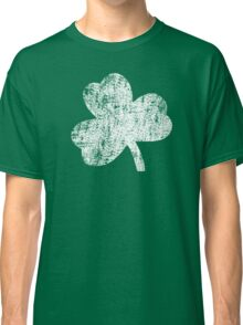 Four Leaf Clover - White Classic T-Shirt
