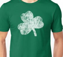 Four Leaf Clover - White Unisex T-Shirt