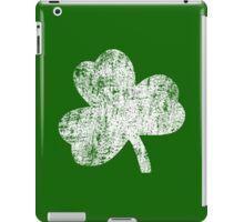Four Leaf Clover - White iPad Case/Skin