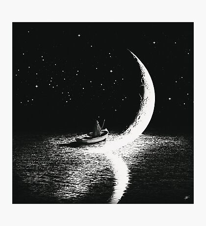 Arrival At Moonlight Photographic Print