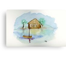 Quiet - Watercolor Painting Canvas Print