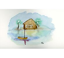 Quiet - Watercolor Painting Photographic Print