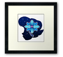 Vivi's Flower Framed Print