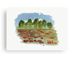 Spring - Watercolor Painting Canvas Print