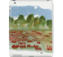 Spring - Watercolor Painting iPad Case/Skin