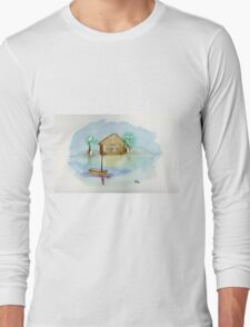 Quiet - Watercolor Painting T-Shirt
