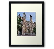 Great Synagogue, Budapest, Hungary Framed Print