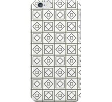 Geometry seamless pattern iPhone Case/Skin