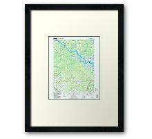 USGS TOPO Map New Jersey NJ Green Bank 254429 1997 24000 Framed Print