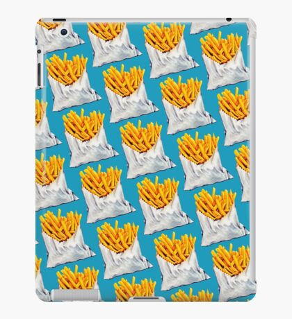 French Fries Pattern iPad Case/Skin