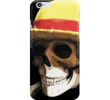 straw hat bone iPhone Case/Skin