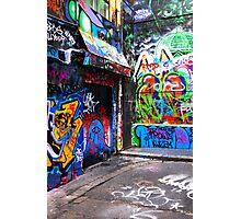 Hosier Lane Graffiti 3 Photographic Print