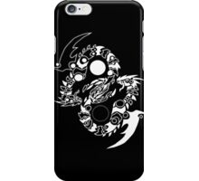 Twin infinity dragons iPhone Case/Skin