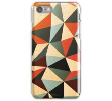 Modern Abstract Triangle Pattern iPhone Case/Skin