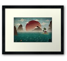 Three Of Seven Framed Print