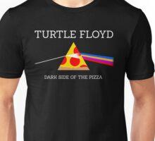 Turtle Floyd - Dark Side of the Pizza Unisex T-Shirt