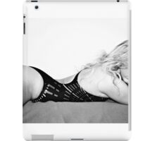 Sports Swimsuit on Bed iPad Case/Skin