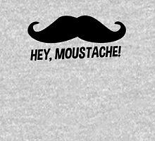 Hey Moustache Unisex T-Shirt