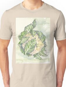 Delicious Cauliflower - Botanical Unisex T-Shirt