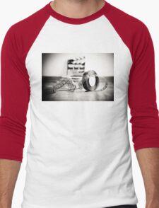 Clapperboard & Film Men's Baseball ¾ T-Shirt